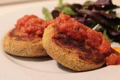 As Minhas Receitas: Hambúrgueres de Peixe e Batata com Molho de Tomate