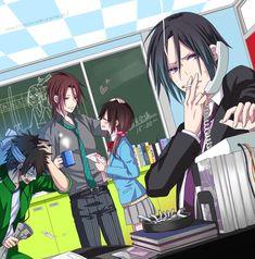 Yuno Uzura, Hakuouki SSL ~Sweet School Life~, Hakuouki Shinsengumi Kitan, Nagakura Shinpachi (Hakuouki), Harada Sanosuke (Hakuouki), Hijikata Toshizou (Hakuouki)