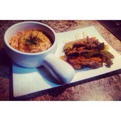 Stirfry and pasta