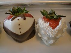 How to...Chocolate covered strawberries, dressed for a special occasion!