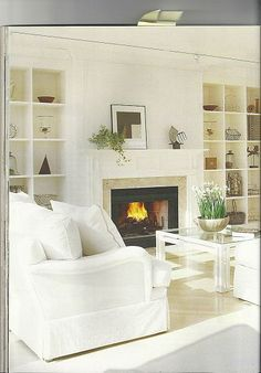 The latest trend is white walls and fabric. Do you like this trend?