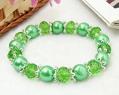 PandaHall Jewelry—Glass Beads Bracelets with Glass Pearls | PandaHall Beads Jewelry Blog
