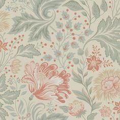 Med Ava får du ett rum med slingrande blomsterprakt, det vackraste man kan tänka sig. Ett helt nytt mönster för stora rum, målad med tanke på lust och fägring. Ge dig hän och låt dig omfamnas av blomsterprakten.