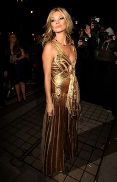 November 15, 2012, Where: At the launch party for 'Kate: The Kate Moss Book' in London, England.