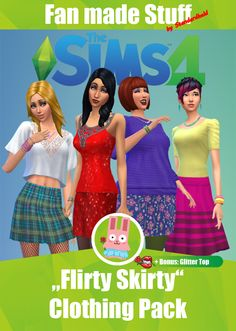 """[Standardheld] • """"Flirty Skirty"""" Clothing Pack Infos + Download..."""
