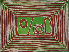 Jimmy Mawukura Mulgra Nerrimah, Nundun, 2003, acrylic on canvas, 122x91cm. Coo-ee Aboriginal Art Gallery, Bondi Beach.