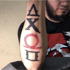 God of war PlayStation buttons forearm tattoo Anime Tattoos, Tatoos, Skyrim Tattoo, War Tattoo, Kratos God Of War, Samurai Artwork, Gaming Tattoo, Future Tattoos, Tattoo Designs Men