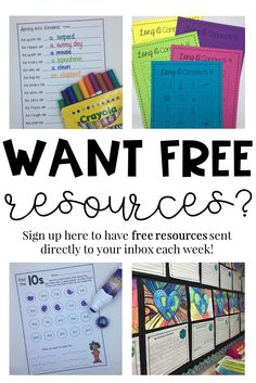 First Grade Free Resources | First Grade Freebies | First Grade Math Free | First Grade Literacy Free | Free Math Centers | Free Writing Activities | Free Literacy Centers | First Grade Resources