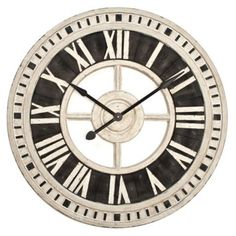 Nantucket Wall Clock Clocks Accessories Decor Z