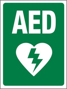 Automated External Defibrillators (AEDs) have become important first aid tools in the workplace. These life-saving devices can help people experiencing cardiac arrest by restoring a normal heart rhythm. Normal Heart, Heart Rhythms, Wall Signs, Helping People, Workplace, Free Printables, About Me Blog, Things To Come, Logos