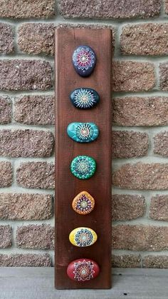 Hey, I found this really awesome Etsy listing at w. - Hey, ich fand diese wirklich tolle Etsy-Auflistung bei w . Dot Art Painting, Rock Painting Designs, Mandala Painting, Pebble Painting, Pebble Art, Stone Painting, Chakra Painting, Painted Rock Cactus, Mandala Painted Rocks