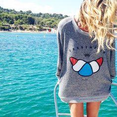 CROISSANT #drolatic #mode #misstribu #look #lifestyle #chic#style #ss15 #summer #sea #marseille #fashion #instawinter #marseille @misstribu