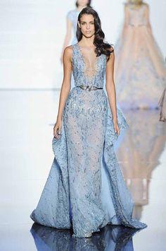 Zuhair Murad: París Alta Costura Primavera-Verano 2015 #altacostura #Ciudadreal #estilistas