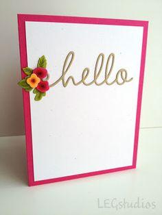 LEG Studios: PTI May Blog Hop - Floral Color Challenge