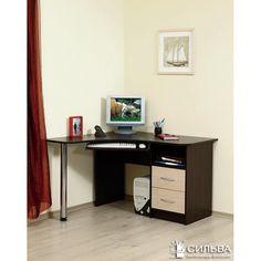 Новинки: угловой компьютерный стол «Сильва СК.07» всего за 4658 рублей!   #компьютерные_столы #интерьер #мебель