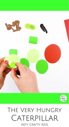 Looking for ideas for a The Very Hungry Caterpillar craft for kids to make at home or preschool? This Very Hungry Caterpillar craft for preschoolers   toddlers   kindergarten children is a fun 3D paper caterpillar craft for kids to make. Get this printable Very Hungry Caterpillar craft with template   videos here! Summer Crafts for Kids | Bug Crafts for Kids | Summertime Crafts for Kids | Summer Kids Crafts | Preschool Caterpillar Craft | Easy Caterpillar Crafts for Kids #SummerCrafts…