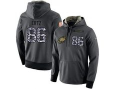 ea0b581d8 NFL Men s Nike Philadelphia Eagles  86 Zach Ertz Stitched Black Anthracite  Salute to Service Player
