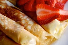 darn good crepe recipe.  Crepes can be filled with lots of different items.  I like seafood crepes.  Dessert crepes filled with fresh fruit and whipped cream are nice too.