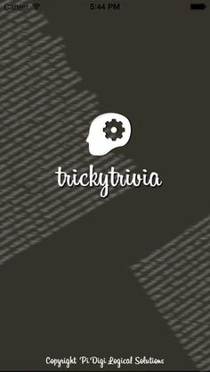 TrickyTrivia - FREE iOS Trivia App Enjoy this new experience of playing trivia game. Lots of questions to play..try answering your best!  #ios #app #trivia #quiz