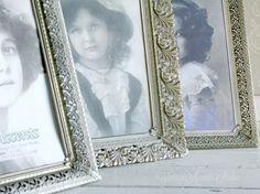 Vintage Filigree Ornate Metal Picture by VintageAccentsStudio
