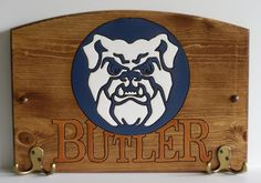 Butler Bulldogs Cats Handcrafted Wood Plaque with by TeamPlaques4U, $32.95