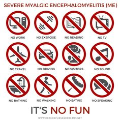 Dragonflies & Dreams    @dfliesanddreams  1h1 hour ago More People with severe #MyalgicEncephalomyelitis (ME) are profoundly disabled and unable to support or care for themselves. Insurance companies and government programs decline their claims for benefits due to ignorance and misinformation. #mecfs #severeme #MEisnofun