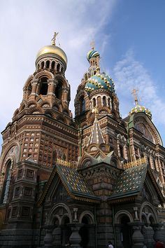 Cathedral of the Resurrection of Christ, St. Petersburg