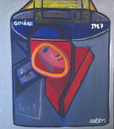 Siron Franco  Cesio.137  88 x 98 cm  Óleo sobre tela  Ano: 1987