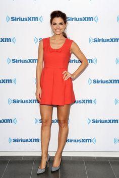 Maria Menounos visits SiriusXM Studios on August 5, 2014 in New York City