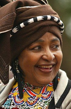 Winnie Madikizela-Mandela one of South Africas most prominent anti-apartheid activists and the former wife of South Africas first black president Nelson Mandela has died at the age of Source: African Life, African Wear, African History, African Women, African Fashion, African Culture, Doek Styles, Winnie Mandela, Xhosa Attire