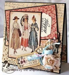 Graphic 45 A ladies Diary Project Examples