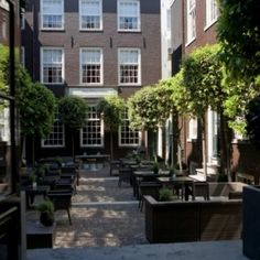 The Garden at The Dylan Hotel, Amsterdam