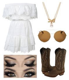 """""""Country 👢"""" by sabrinawimer on Polyvore featuring LoveShackFancy, Laredo, Kate Spade, Givenchy and country"""
