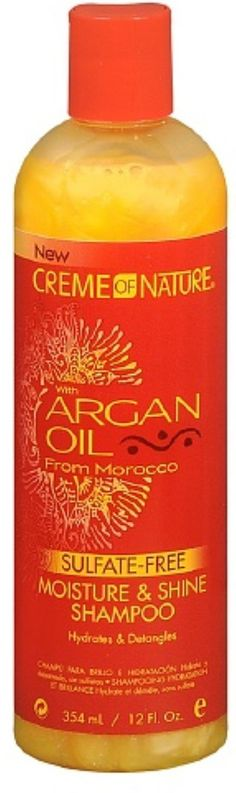 Creme of Nature Moisture and Shine Shampoo With Argan Oil From Morocco, 12 oz (Pack of 5) *** Want to know more, click on the image.