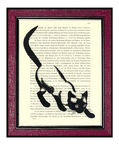#LiteraryCat artwork via @Etsy