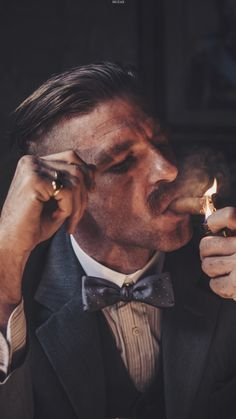Arthur Shelby of the Peaky Blinders