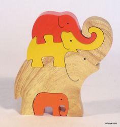 12.422 elephant tower, orange