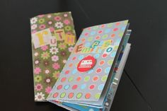 Cool stuff to send to your sponsored child: mini pocket book  #Compassionletter