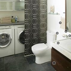 small combo bathroom laundry on pinterest bathroom