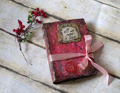 Wedding Guest Book Idea Vintage Photo Album by CraftPointPL