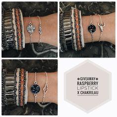 CONCOURS RASPBERRYLIPSTICK X CHAKRILAU  Ce soir la jolie Charlotte qui fabriquent les bijoux @chakrilau et le blog s'associent pour vous gâter! Nous mettons en jeu ces trois ensembles de bracelets faits main! Pour participer il suffit :  D'être abonné au compte @raspberrylipstick et @chakrilau  Au choix: -Aimer cette photo et la commenter en identifiant 3 amis - ou partager cette photo avec le #raspberryxchakrilau  Bonne chance à tous ! Fin du concours le 07/01