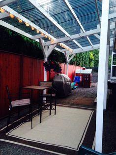 Pergola With Retractable Canopy Kit Product Metal Pergola, Pergola With Roof, Pergola Patio, Pergola Kits, Backyard Landscaping, Pergola Ideas, Corner Pergola, Patio Ideas, Backyard Shade