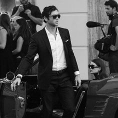 Salvatore Ferragamo Goes Hollywood with Ethan Peck