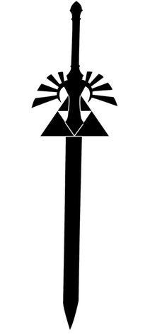 Triforce Master Sword tattoo by quickieintheshower on deviantART
