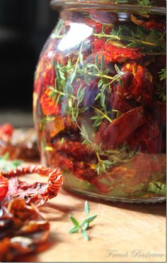 Herb Infused Sundried Tomatoes