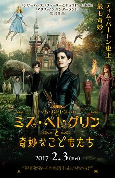Miss Peregrine a film by Tim Burton / at the cinema since October 2016 / exist . - Miss Peregrine a film by Tim Burton / at the cinema since October 2016 / also exists in book - Eva Green, John Green, Kid Movies, Movies To Watch, Movie Tv, Children Movies, Children Reading, Children Music, Film Watch
