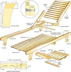 Wooden Lounge Chair Plans plans for wood lounge chair Reclining Lounge Chair Wooden Beach Chairs, Wood Patio Chairs, Pool Chairs, Outdoor Chairs, Lounge Chairs, Lawn Chairs, Wooden Pool, Pool Lounge, Wooden Garden