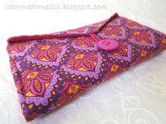 DIY fabric wallet