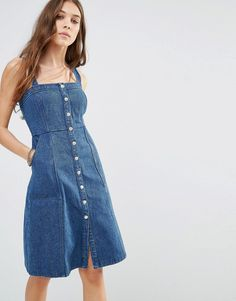 5740b97d2a3 27 Best Denim overall dress images