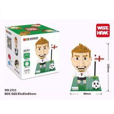 David Beckham มาใหม่เลยจ้าา มาในชุดทีมชาติอังกฤษเลยน้าาา ใครอยากได้เลโก้ตำนานนักเตะอังกฤษไปเก็บสะสมไว้รีบทักไลน์เข้ามาเลยน้าา ซื้อเยอะได้ลดเยอะ ___________________ Line id : esunnys ___________________ #legonan